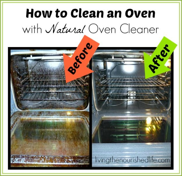 Homemade oven cleaner with vinegar and baking soda crazy How to clean top of oven