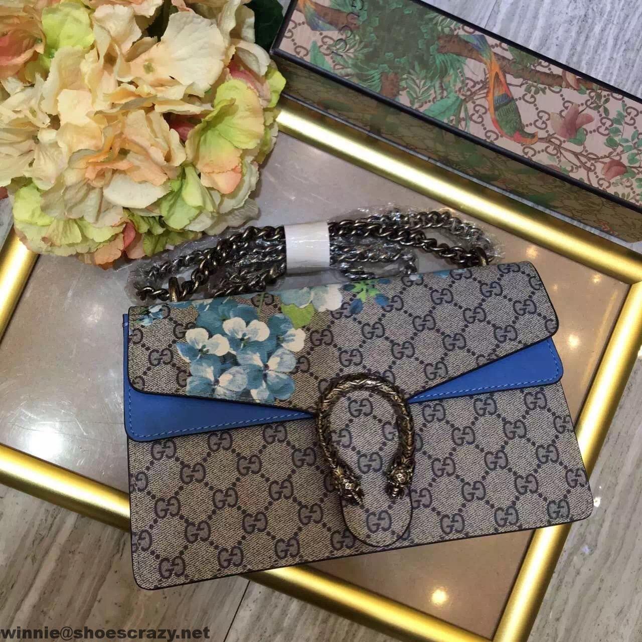 Gucci Blue Blooms DIonysus Bag | Gucci | Pinterest | Gucci ...