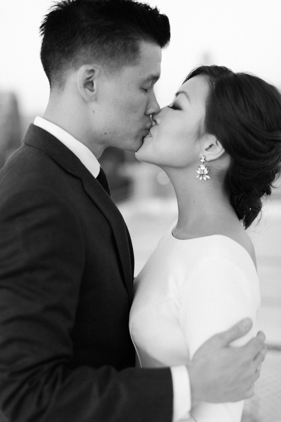 Downtown la wedding with rooftop views wedding pinterest