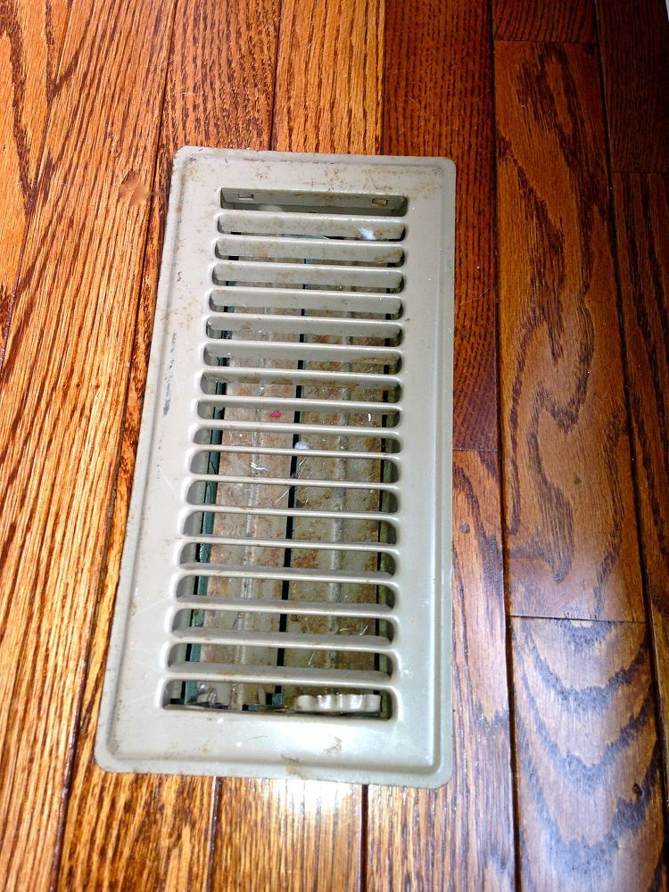 Easy Cheap Fix/look for Old Air Duct Vent Vent covers