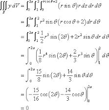 Image Result For Triple Integral Calculus Calculus Math Mathematics