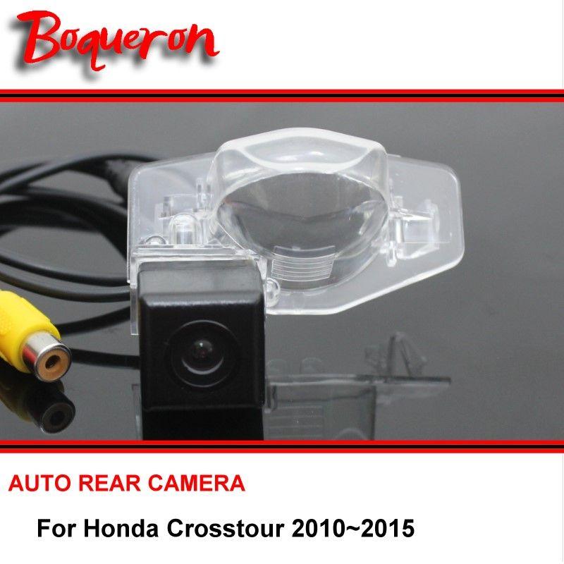 For Honda Crosstour 2010 2015 Rear View Camera Back Up Reverse Camera Car Parking Camera For Sony Ccd Night Visio Car Camera Car Parking Camera Honda Crosstour