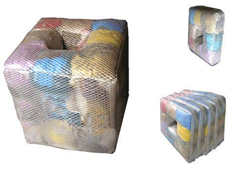 Reused Furniture old clothes storing furniture - diy/stuffing -refab: 20 eye