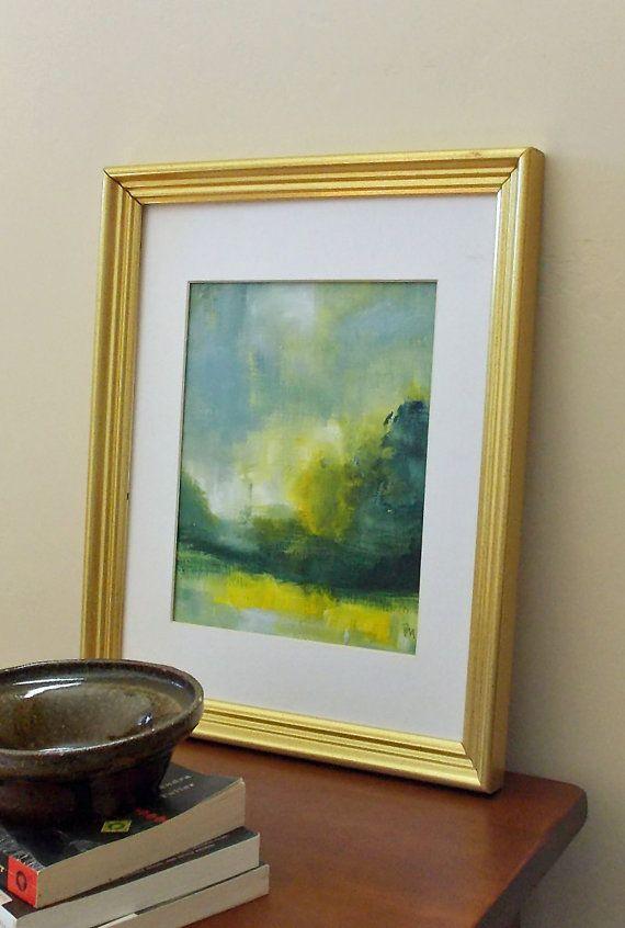 art oil painting original landscape abstract landscape by pamelam