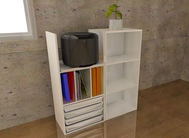 カラーボックス炊飯器 レンジ台のイメージ Diy Home Decor Interior Home Decor