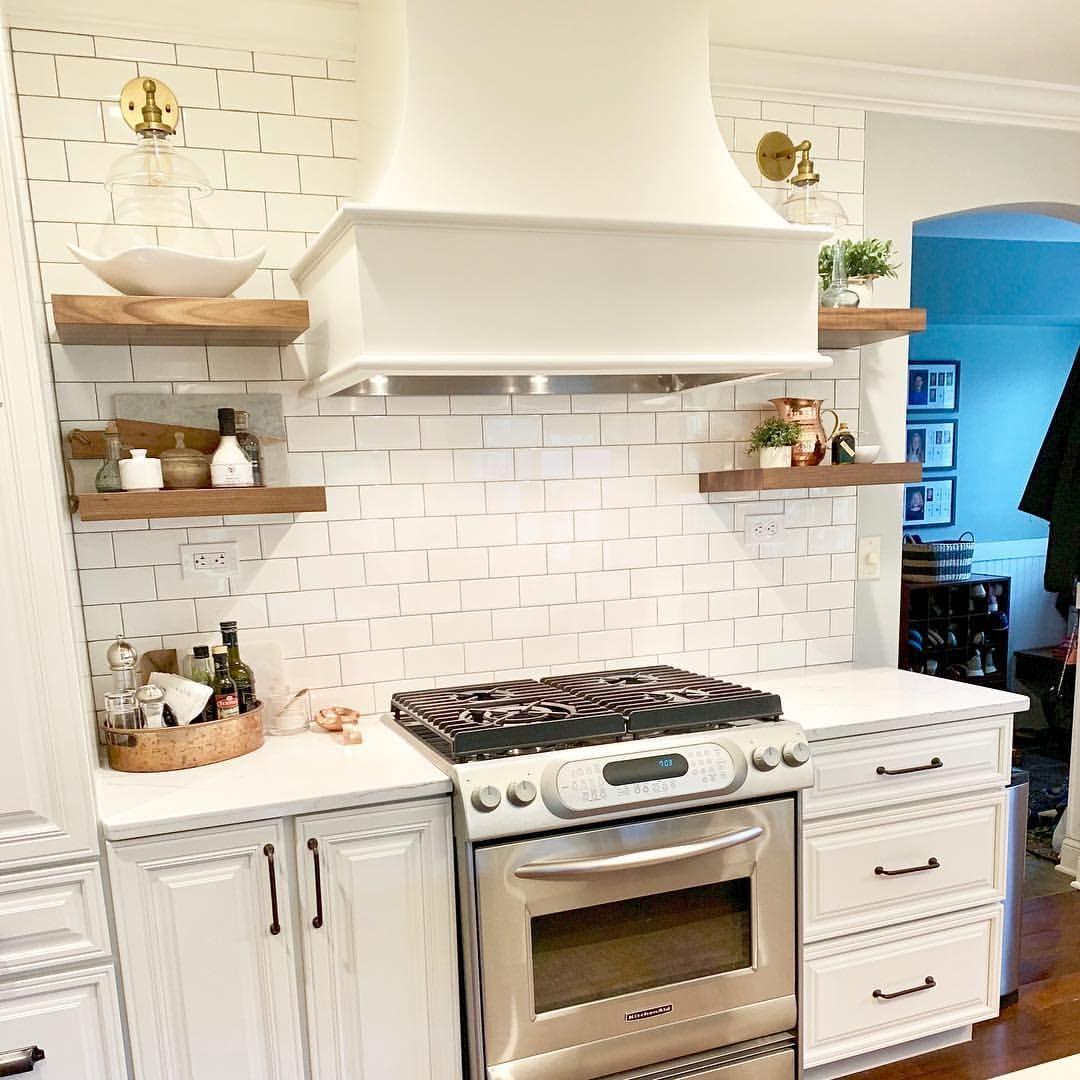 White Kitchen Cabinets - Benjamin Moore Swiss Coffee OC-45 ...