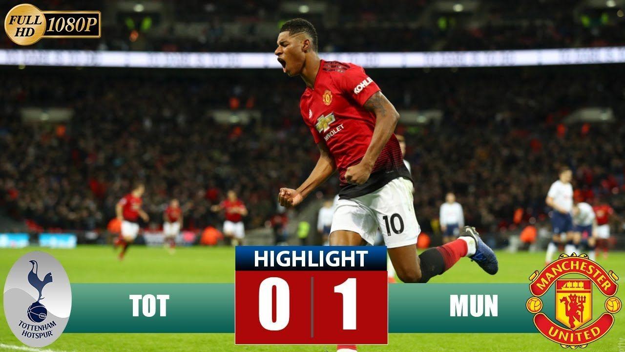 Tottenham Vs Manchester United Highlights Match Review Statitics And Goals England Premier Football Highlight Premier League Highlights Soccer Highlights