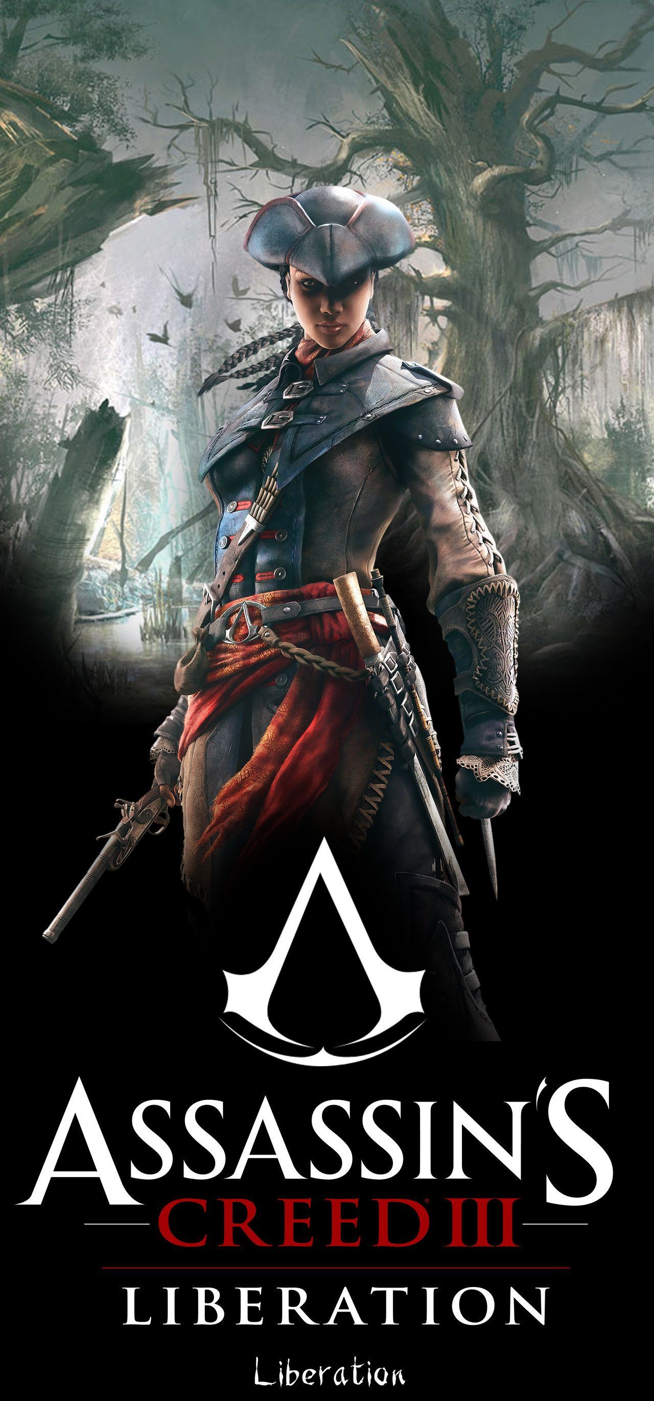 Assassin S Creed Poster Large Aveline By Ven93 Deviantart Com On Deviantart Arte Fantasia Anime Desenho Tattoo
