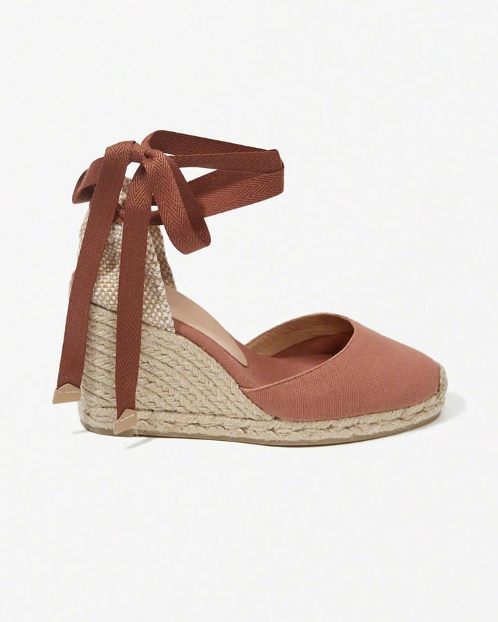 9960b3bf629 Castaner Carina Wedges | shoes in 2019 | Lace up espadrille wedges ...