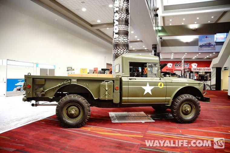 2013 Sema Jeep M715 Military Truck