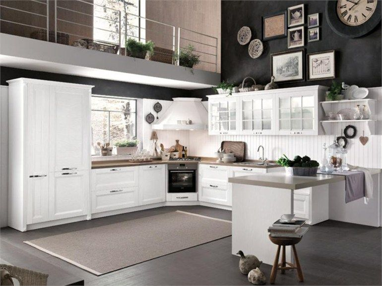 Cucina in legno BEVERLY Collezione Contemporary Lifestyle by Stosa ...