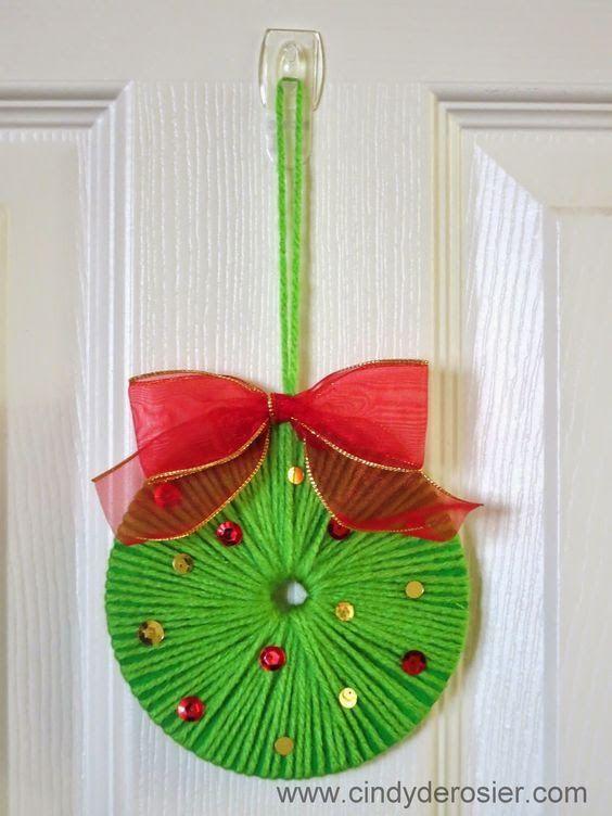 Reutiliza CDs para hacer lindos adornos navideos Dale Detalles