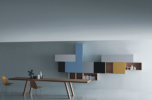 Piero Lissoni - just dig those colors