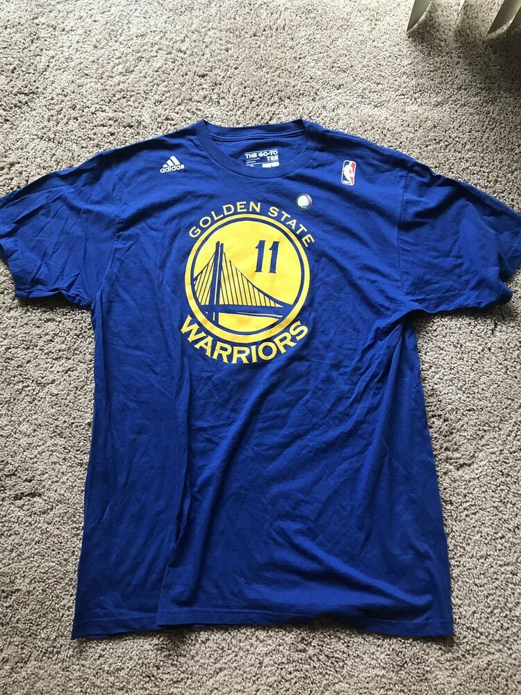 sports shoes ccf3b 01e02 Adidas Klay Thompson Golden State Warriors Jersey T-Shirt ...