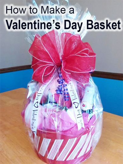 Learn How To Create A Beautiful Diy Valentine S Day Gift Basket