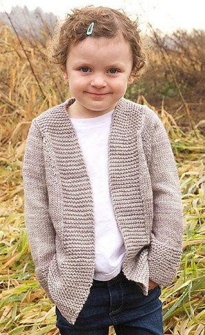 Cardigans For Children Knitting Patterns Yarnage Crocheting