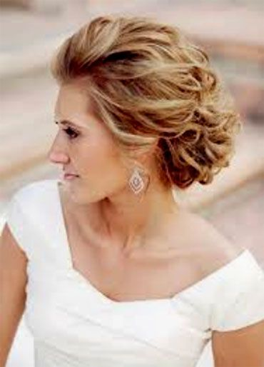 mecoming updos for sulder length hair | Mother of the bride ...