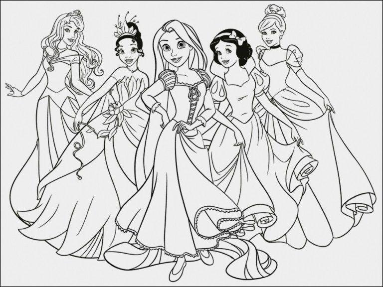 Disegni Tutte Le Principesse Disegni Da Colorare Disegni Disegni Di Mandala Da Colorare