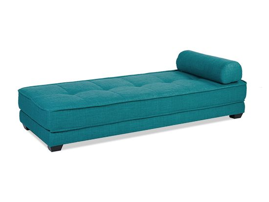 Driana Chaise Futon Turquoise Plummers 249 Perfect For The Office