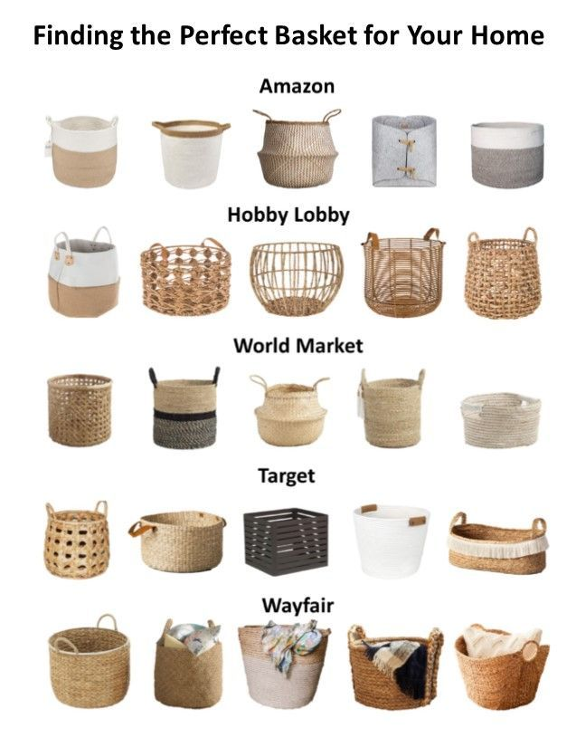 Finding the Perfect Baskets for Your Home - Within