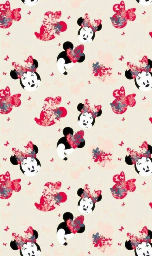 Image Via We Heart It Cartoon Minnie Patterns Wallpapers