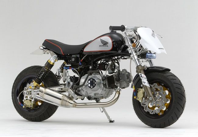 honda super monkey bike! | motorcycle photo of the day | honda