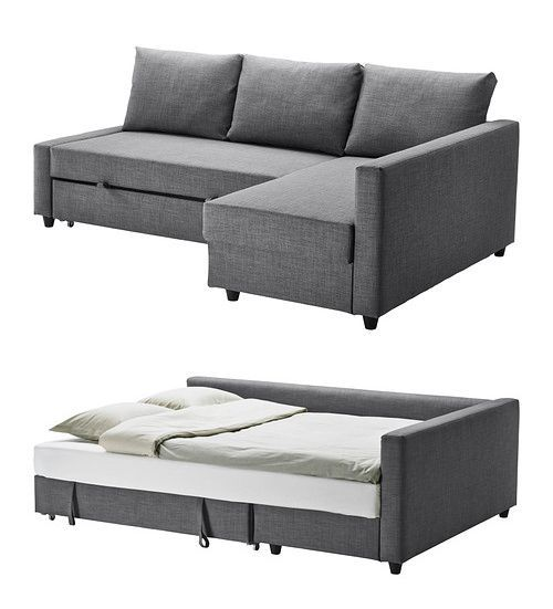 ikea friheten corner sofa with bed httpikeacom