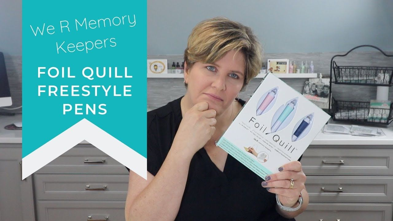 We R Memory Keepers Foil Quill Freestyle Pen We R Memory Keepers Memory Keepers Freestyle