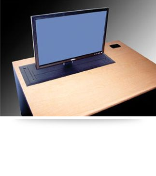 The Trolley E Class Computer Desk With Automated