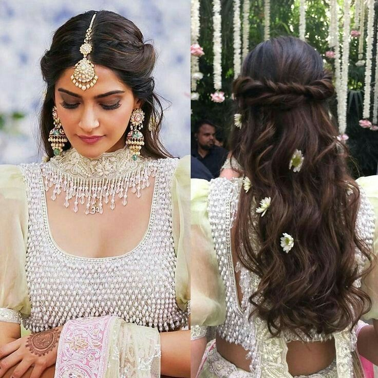 Pin By Shefali Setia On 1er Aout 2020 Engagement Hairstyles Short Wedding Hair Braided Hairstyles For Wedding