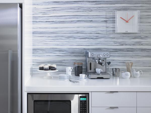 New Gray Striato Formica Solid Surfacing Exclusively At Lowe S Laminate Kitchen Backsplash Blue Backsplash