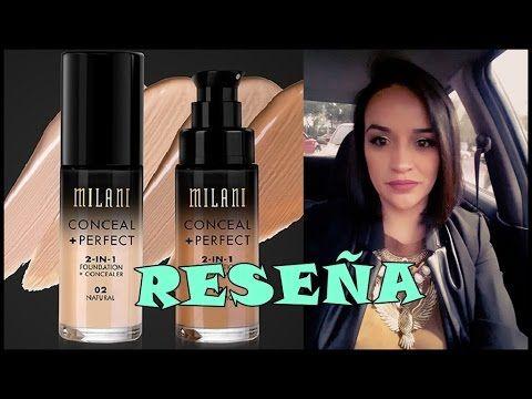 RESEÑA DE BASE DE MILANI CONCEAL+PERFECT //SARA DICE