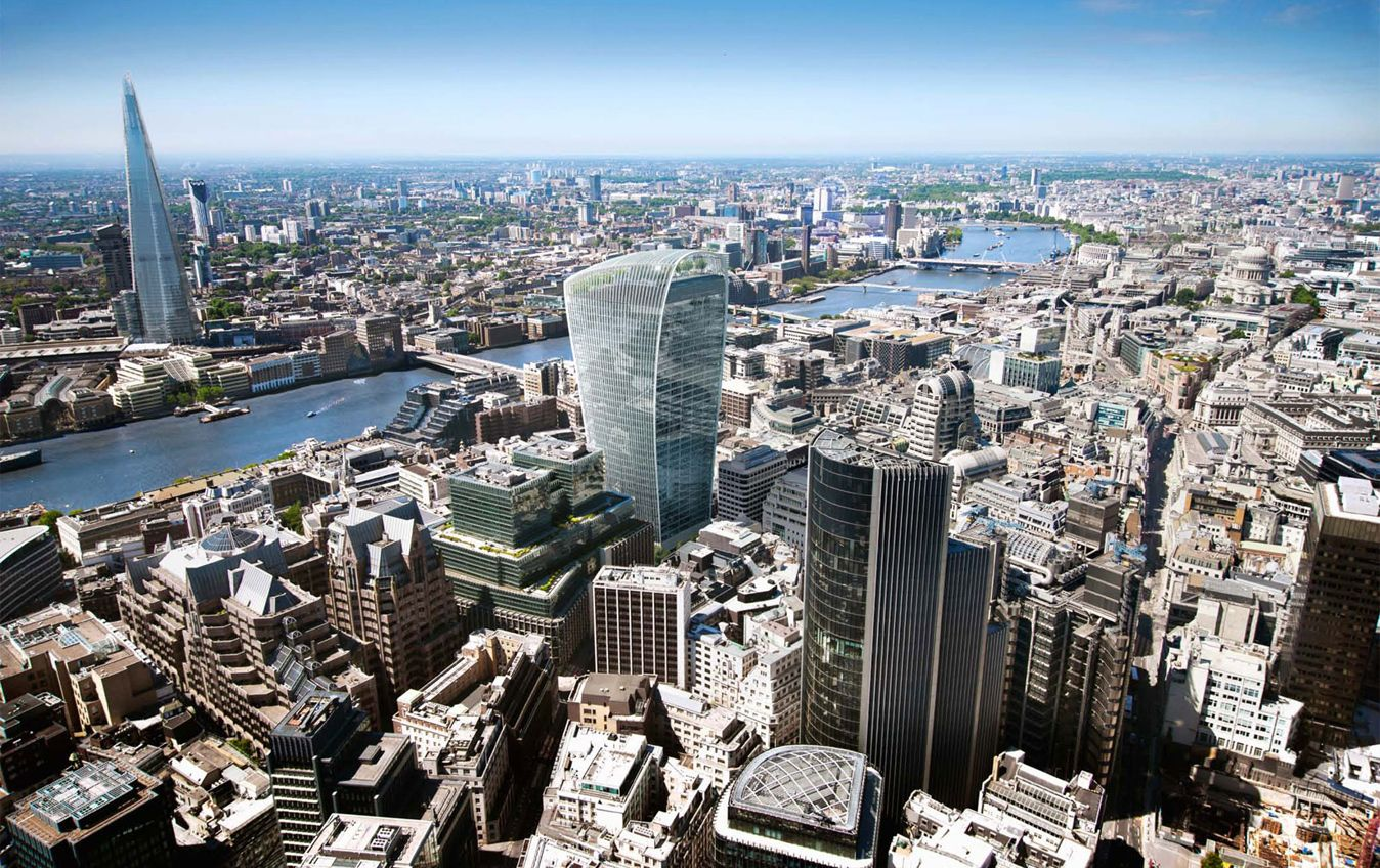london aerial view skygarden - Google zoeken