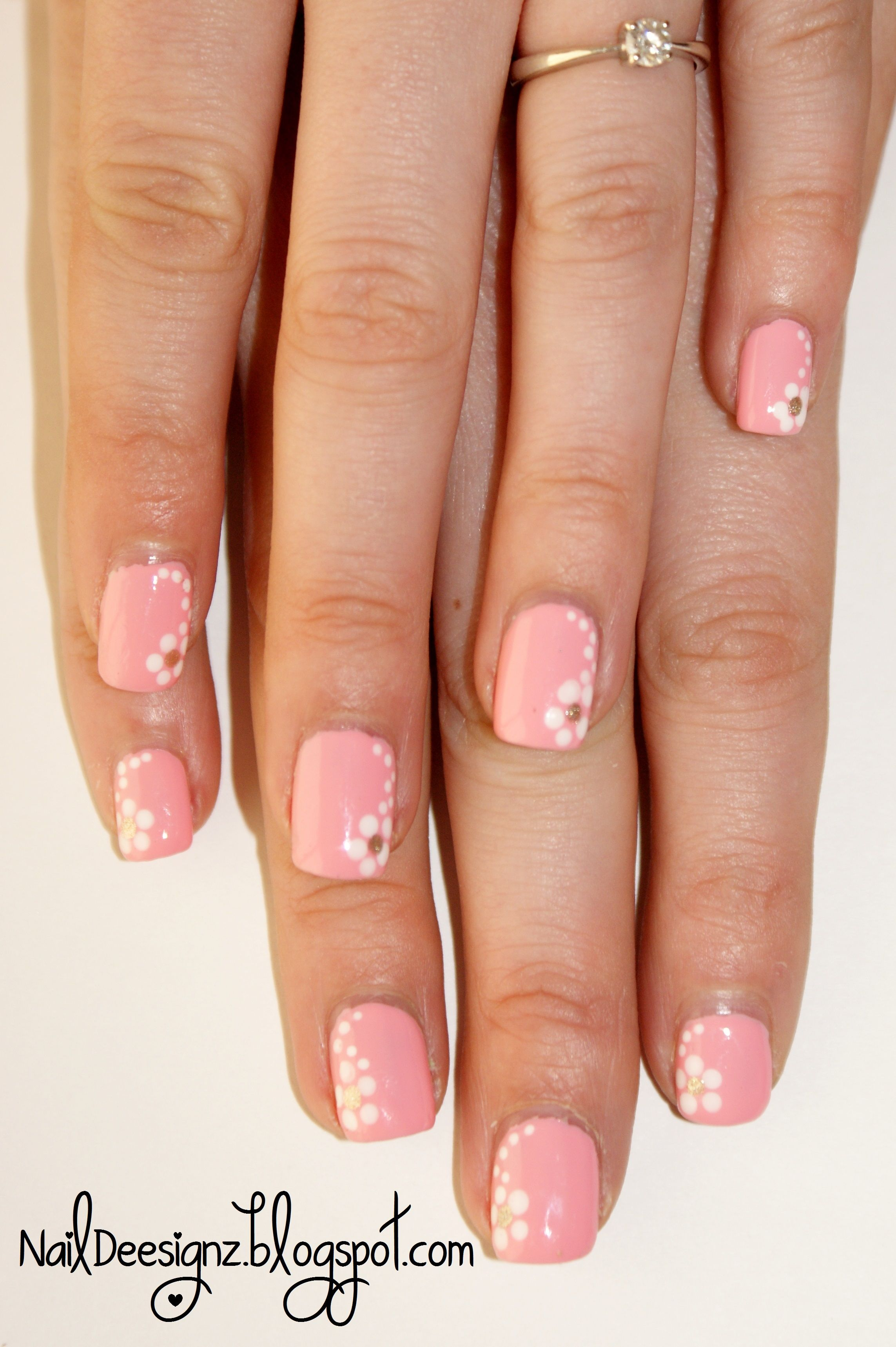 Spring Flower Nail Art X Httpnaildeesignzspot