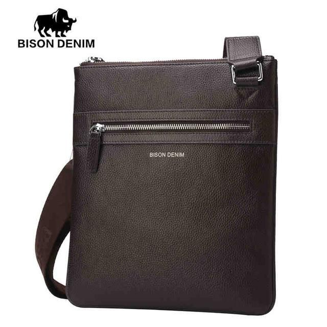 Simple Sophisticated Leather Messenger Bag