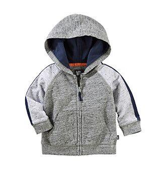 OshKosh B'Gosh® Baby Boys' Raglan Jersey Hoodie