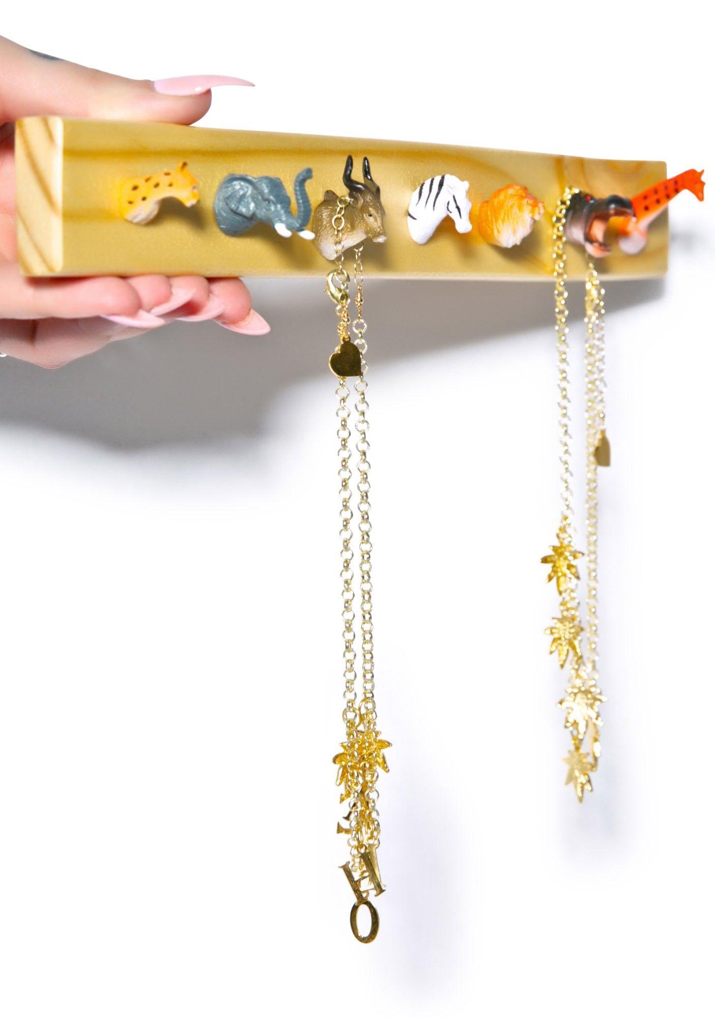 Pack Rack Jewelry Holder Jewellery holder Jewelry storage and Storage