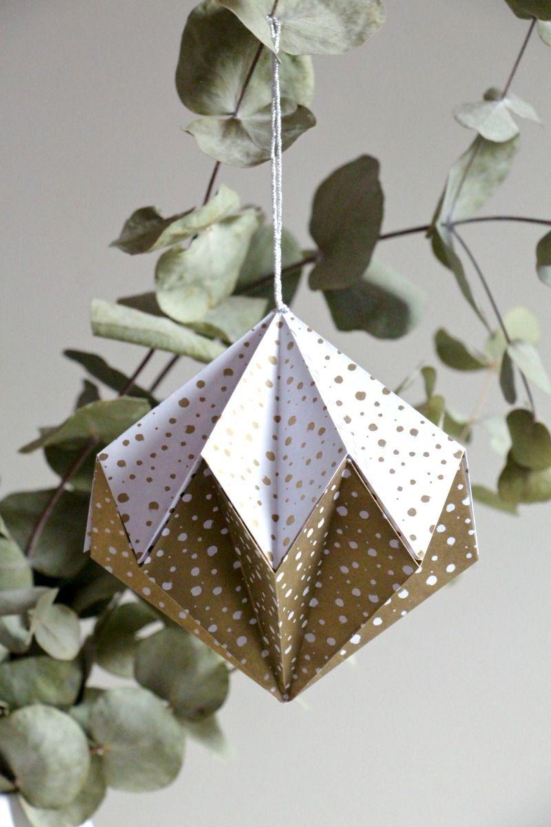 Tutorial bolas de navidad originales bolas navidad de origami bolas de navidad transparentes - Bolas navidad transparentes ...