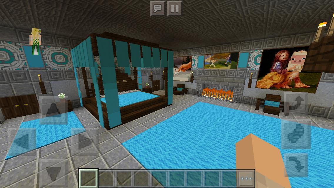 This is a little sneak peek in the inside. Chaisleán na Mban Glas (Green Lady Castle) Master Bedroom ...