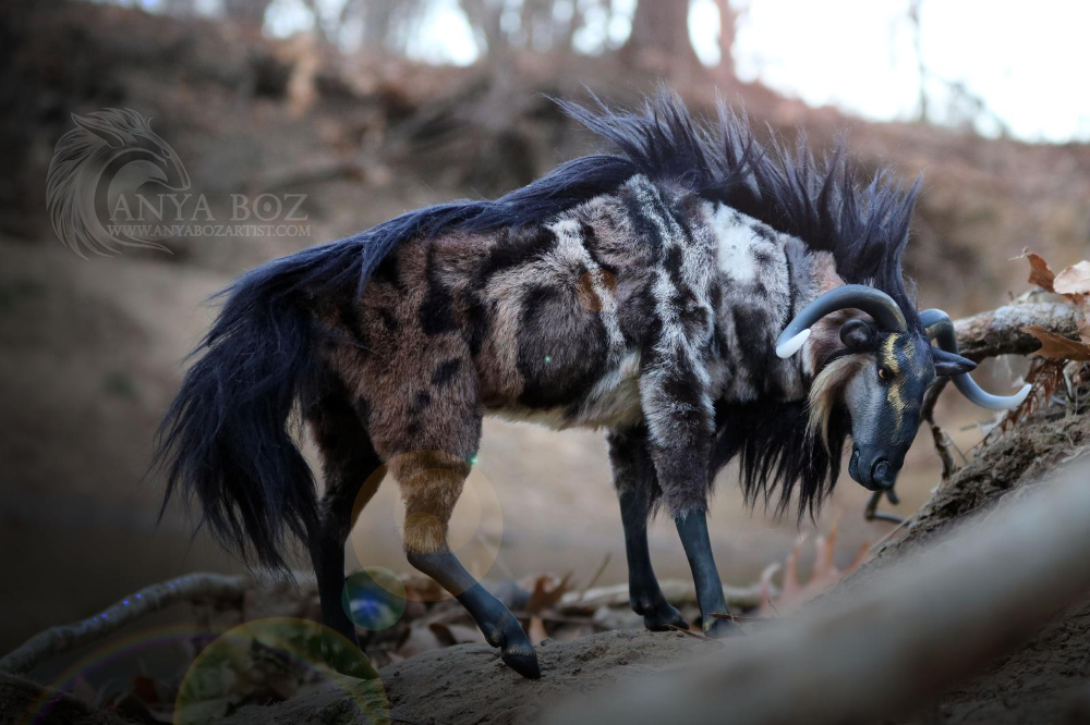Marbled Wildebeest Room Guardian by AnyaBoz on DeviantArt