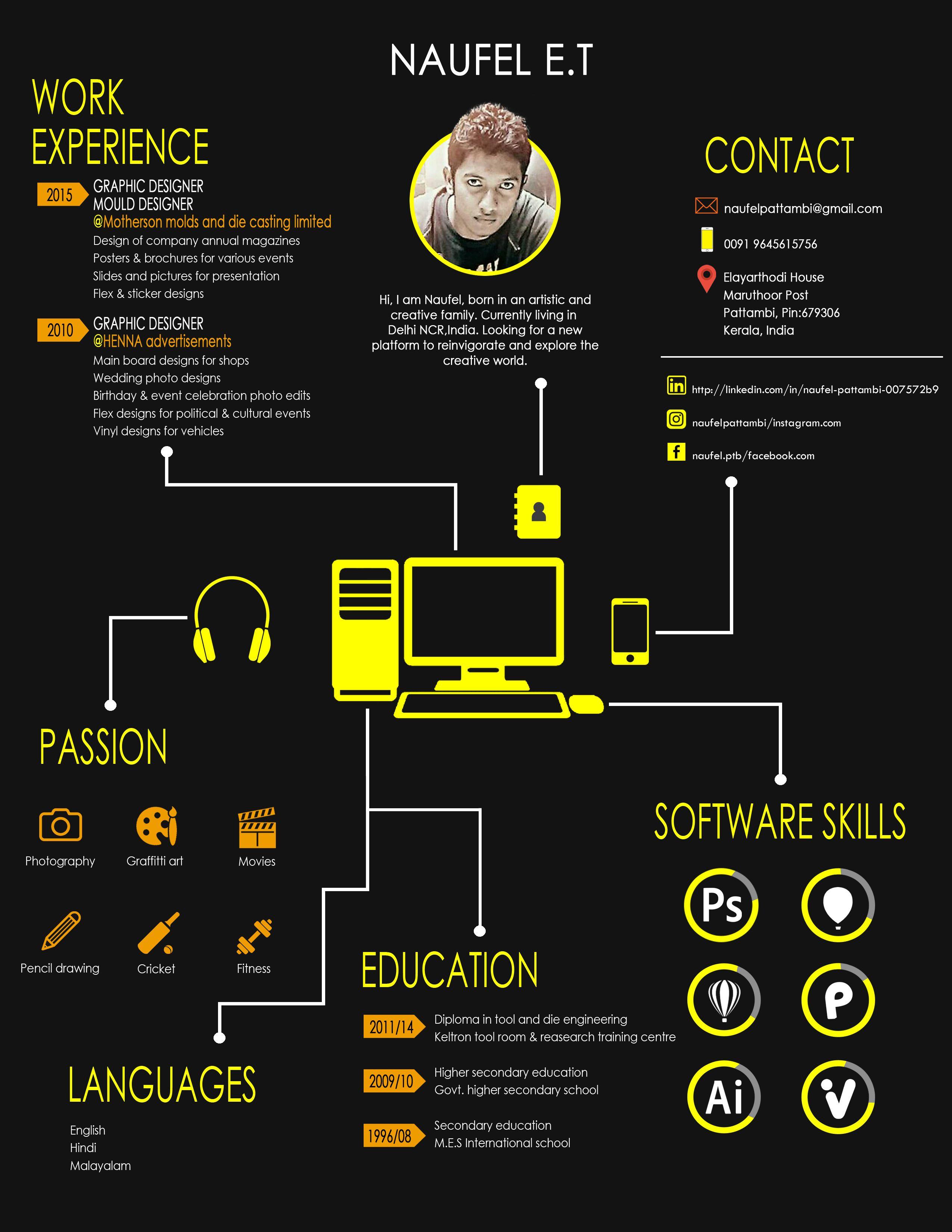 Graphic designer resume graphic design resume resume