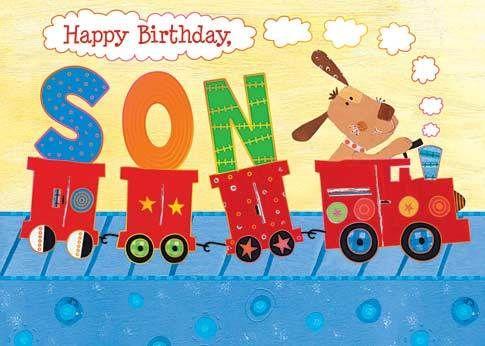 Happy Birthday Son Card Happy Birthday Son 30th Birthday Wishes Happy Birthday Friend