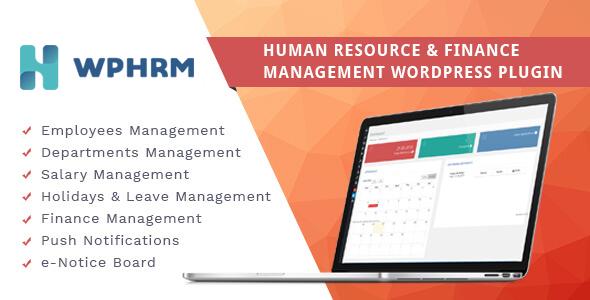 Free Download Wphrm Human Resource And Finance Management Wordpress Plugin In 2020 Wordpress Plugins Employee Management Human Resources