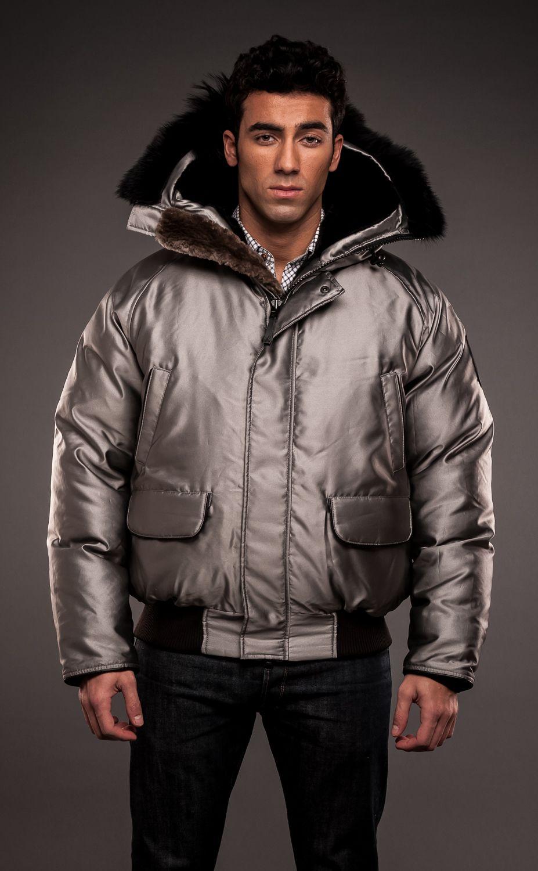 2ef1047535a Arctic Bay Inuvik Bomber Winter Coat