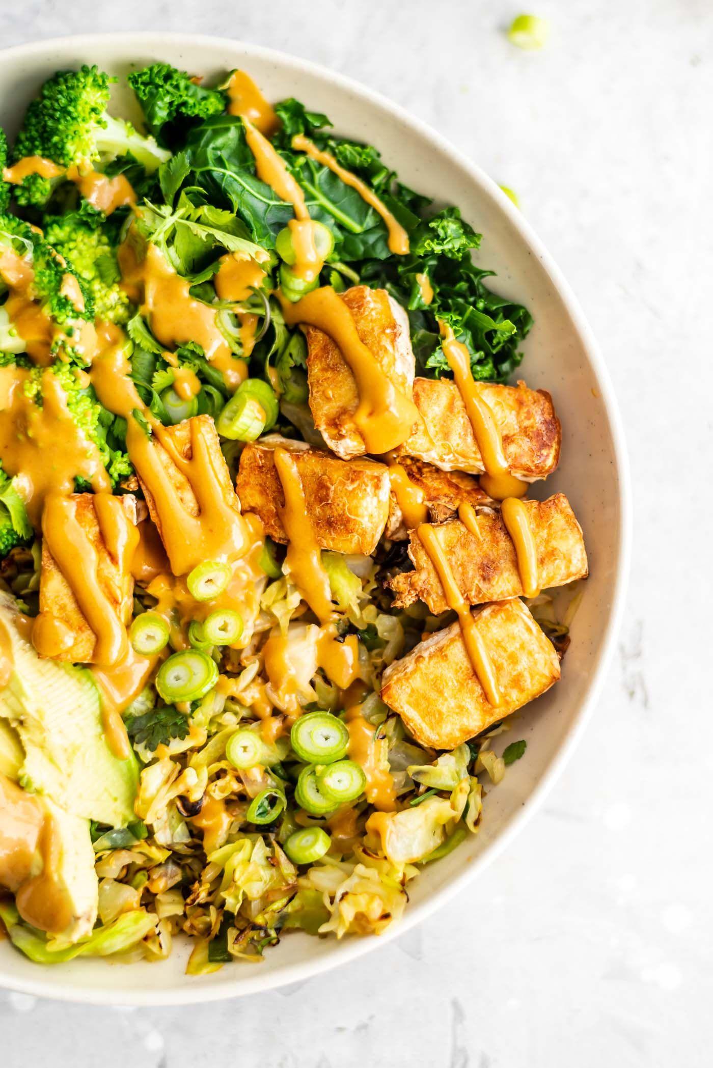 Low Carb Vegan Bowl Recipe Vegan Dinners Low Carb Vegan Vegetarian Recipes