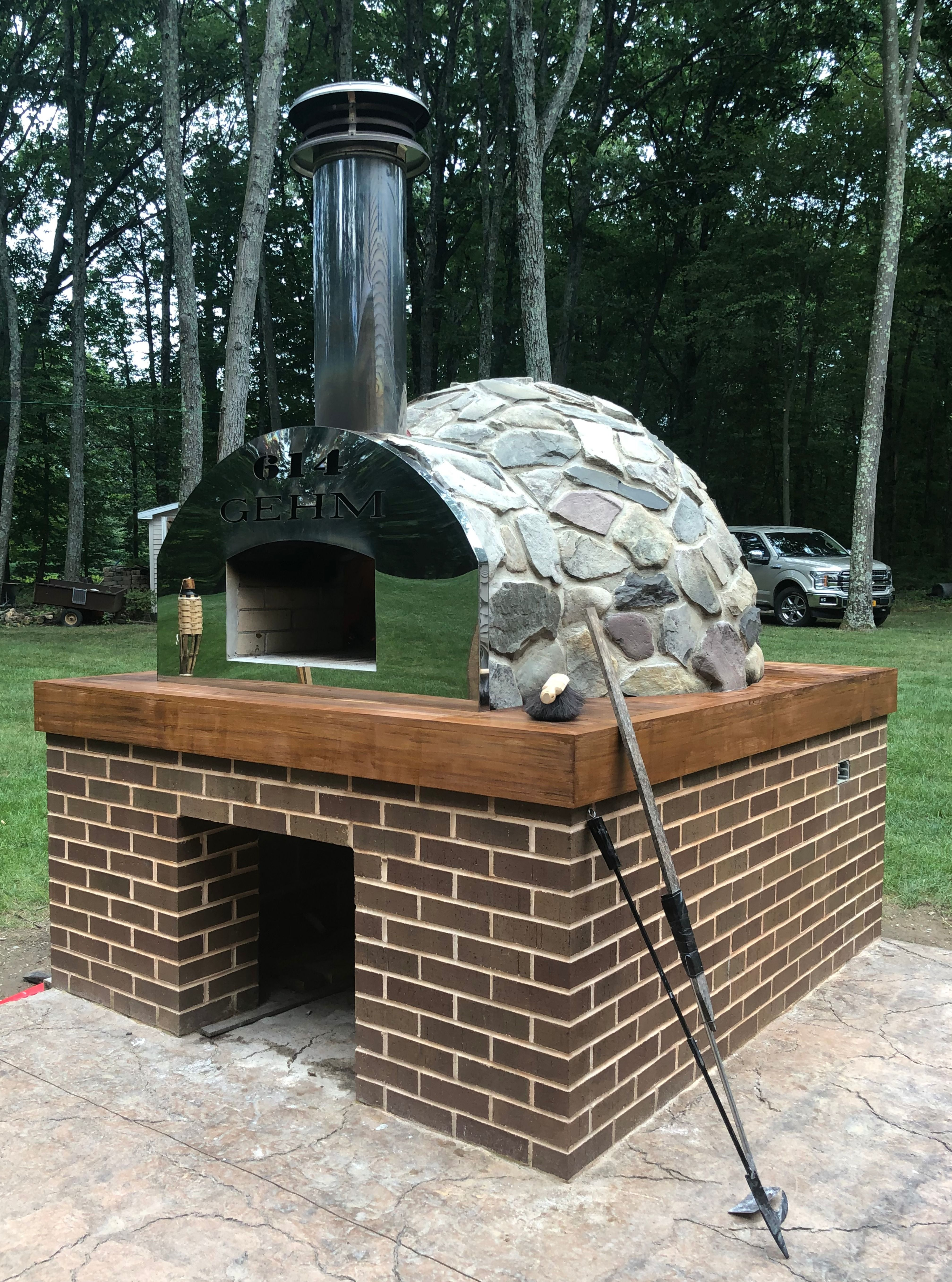 Pompeii Diy Brick Oven Photos In United States Brick Oven Wood Fired Oven Outdoor Bbq Kitchen