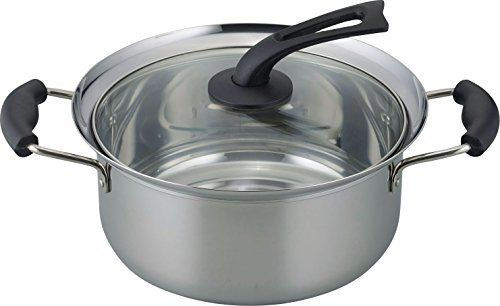 Cuisinart DSI19-18P 2 Qt Pour Saucepan with Straining Cover DS Induction Dishwasher Safe Hard Anodized Non Stick