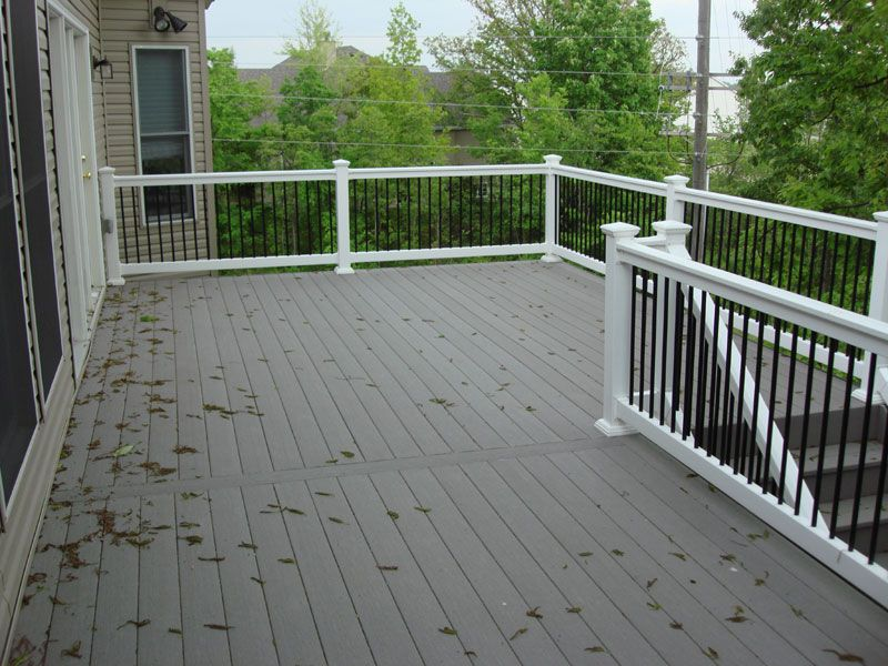 Trex Decking Grey On Pinterest Decks