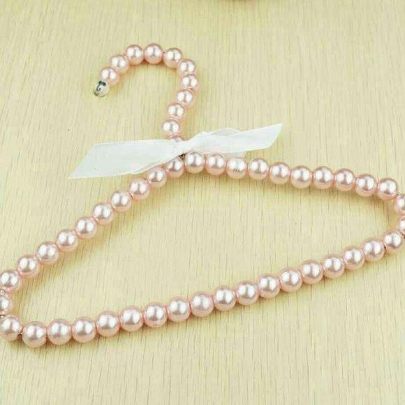 100 Baby Pearl Hangers Pink Pearl Hanger Baby Pearls Baby