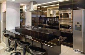 cooktop torre de forno e armario planejados - Pesquisa Google